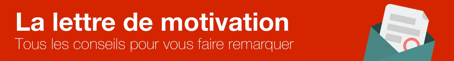 Lettre de motivation cover